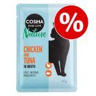 18 x 50 g  Cosma Nature kapsičky za skvělou cenu