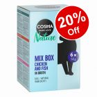 36 x 50g Cosma Nature Pouches Wet Cat Food -  20% Off!*