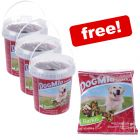 3x 500g DogMio Barkis Dog Treats + 450g Refill Pack Free!*