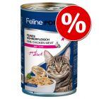 12 x 400 g Feline Porta 21 -kissanruokaa erikoishintaan!