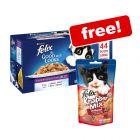 44 x 100g Felix As Good As It Looks Wet Cat Food + Goody Bag Treats Free!*