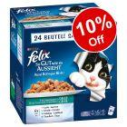 96 x 100g Felix As Good As It Looks Wet Cat Food - 10% Off!*