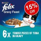 6 x 200g Felix Feast in Sauce - 15% Off!*