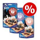 3 x  40 g Felix Mini Filetti im leckeren Snack-Paket