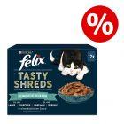 """24 x 80 g Felix """"Tasty Shreds"""" kapsičky za skvelú cenu!"""