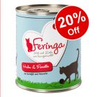 6 x 800g Feringa Classic Meat Menu Wet Cat Food - 20% Off!*