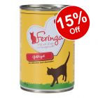 24 x 400g Feringa Classic Meat Menu Wet Cat Food - 15% Off!*