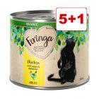 6 x 200g Feringa Organic Adult: 5 + 1 kaupan päälle