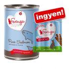 12 x 410 g Feringa Pure Meat Menü + 3 x 6 g Feringa Sticks ingyen!