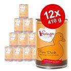 12 x 410 g Feringa Pure Meat Menu -märkäruoka 15 % alennuksella!