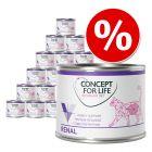 12 x 200 g /185 g  Concept for Life Veterinary Diet zum Sonderpreis!