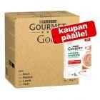 96 x 85 g Gourmet Gold -jumbopakkaus + 5 x 10 g Nature's Creations Snack kaupan päälle!