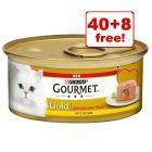 48 x 85g Gourmet Gold Wet Cat Food - 40 + 8 Free!*