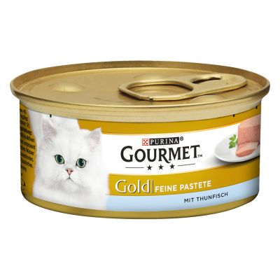 48 x 85g Gourmet Gold Wet Cat Food - 40 + 8 Free!*
