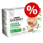 12 x 85 g Gourmet Nature's Creations 20% kedvezménnnyel!