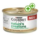 12 x 85g Gourmet Nature's Creations Wet Cat Food - 3x zooPoints!*