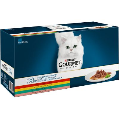 60 x 85g Gourmet Perle Mixed Pack Wet Cat Food - 15% Off!*