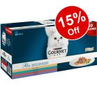 60 x 85g Gourmet Perle Mixed Pouches - 15% Off!*