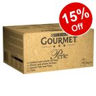 96 x 85g Gourmet Perle Pouches Mixed Mega Pack Wet Cat Food - 15% Off!*