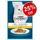 120 x 85g Gourmet Perle Wet Cat Food - 25% Off!*