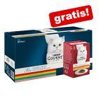 60 x 85 g Gourmet Perle + 12 x 50 g Mon Petit gratis!