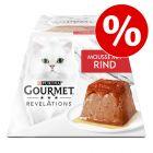 4 x 57 g Gourmet Revelations Mousse -kissanruokaa erikoishintaan!