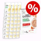 32 x 40 g Gourmet Soup + Nature's Creations Snack, 5 x 10 g w super cenie!