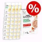 32x40 g Gourmet Soup + 5x10 g Nature's Creations snack 20% árengedménnyel!