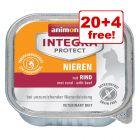 24 x 100g Integra Protect Feline Wet Cat Food - 20 + 4 Free!*