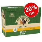 12 x 85g James Wellbeloved Wet Cat Food Pouches - 20% Off!*