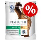 3 x 750 g / 1,4 kg / 2,8 kg / 6 kg Perfect Fit granule pro kočky za skvělou cenu!