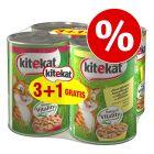 4 x 400 g Kitekat mokra karma dla kota w super cenie!