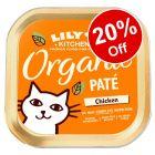 19 x 85g Lily's Kitchen Organic Trays - 20% Off!*
