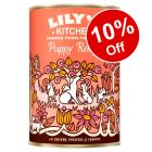 6 x 400g Lily's Kitchen Puppy Recipe Wet Food - 10% Off!*