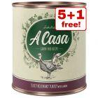 6 x 800g Lukullus A Casa Wet Dog Food - 5 + 1 Free!*