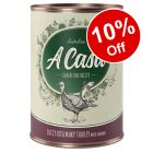 6 x 400g Lukullus A Casa Wet Dog Food - 10% Off!*