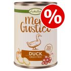 6 x 400g Lukullus Menu Gustico Grain-free Wet Dog Food - Special Price!*