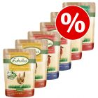 6 x 300g Lukullus Pouches Mixed Pack Wet Dog Food - Special Price!*