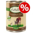 24 x 400g Lukullus Wet Dog Food - Special Price!*