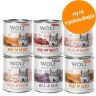 6 x 800 g míchaná balení - Wolf of Wilderness