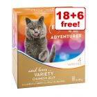24 x 85g My Star is an Adventurer Mixed Pack Wet Cat Food - 18 + 6 Free!*