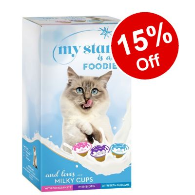 75 x 15g My Star Milky Cups Mixed Pack - 15% Off!*