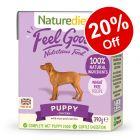 18 x 390g Naturediet Puppy Wet Dog Food - 20% Off!*