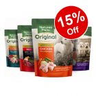 8 x 300g Natures Menu Dog Pouches Multipack Wet Dog Food - 15% Off!*