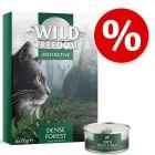6 x 70 g offerts! Wild Freedom Instinctive pour chat 420 g