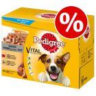 144 x 100g Pedigree Dog Pouches - 114 + 30 Free!*