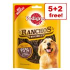 7 x 70g Pedigree Dog Treats - 5 + 2 Free!*