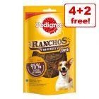 6 x 65g Pedigree Ranchos Originals Cuts Dog Snacks - 4 + 2 Free!*