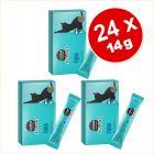 24 x 14 g à prix avantageux ! Cosma Jelly Snack pour chat 336 g