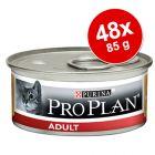 48 x 85 g Pro Plan Cat
